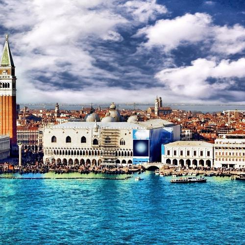 The great attraction Venice Italy