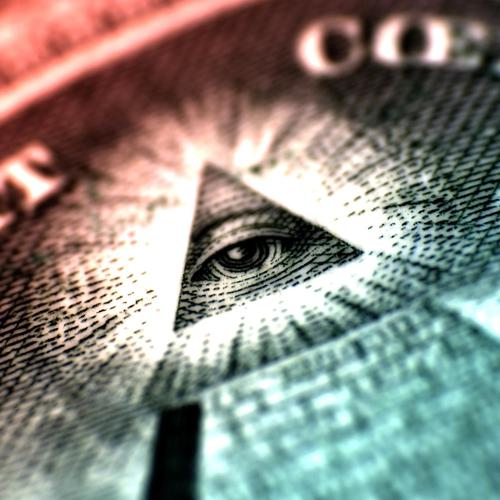 The Great Seal triangle in money
