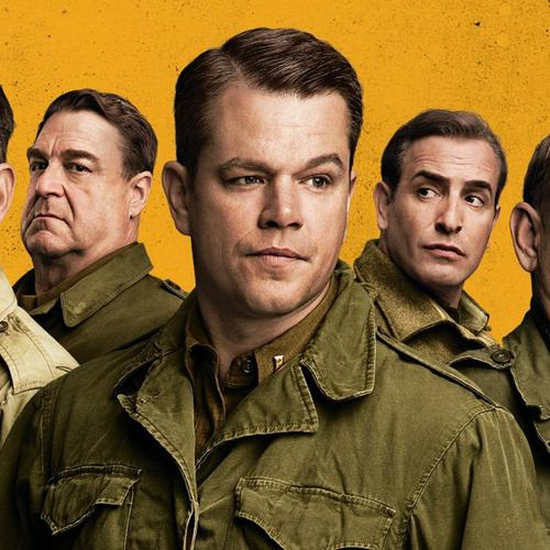 The Monuments Men movie 2014 wallpaper