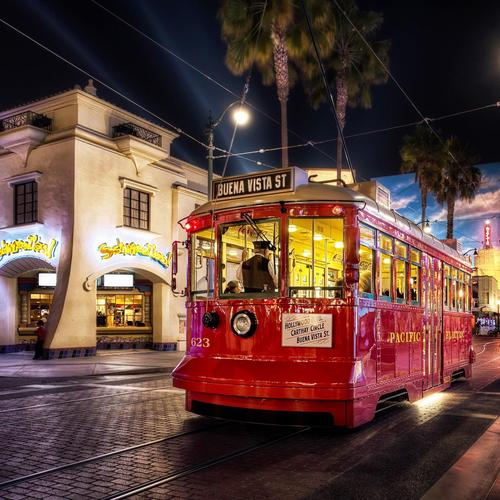 The Tram At Anaheim, California