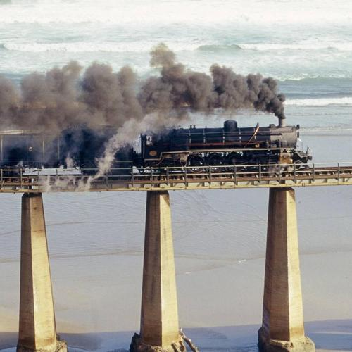 Tjoe steam engine in South Africa