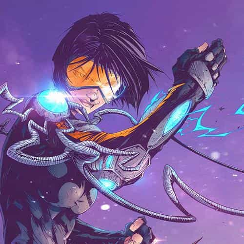 tonton revolver overwatch game tracer illustration art