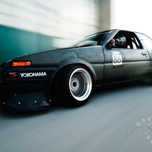 Toyota Ae86 drift wallpaper
