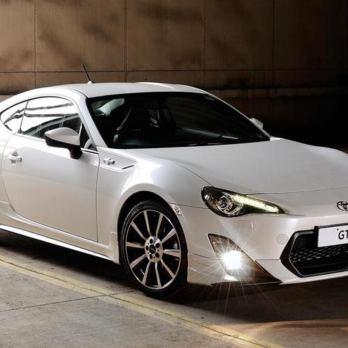 Toyota coupe, 86, front view HD