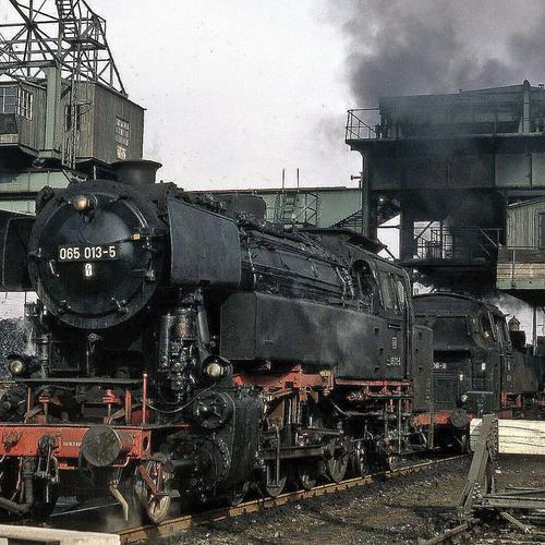 Trains Locomotives Rail Transport Vintage Old Charbon Images