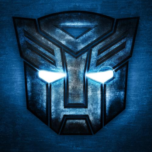 Transformers autobot glowing logo wallpaper