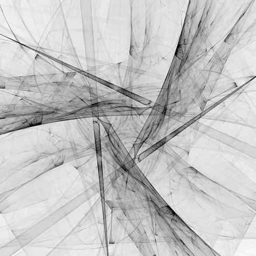 triangle art abstract bw white pattern