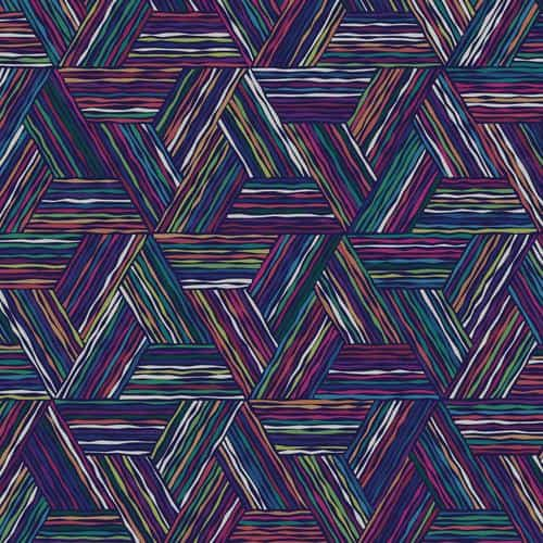 triangle line color digital graphic art pattern