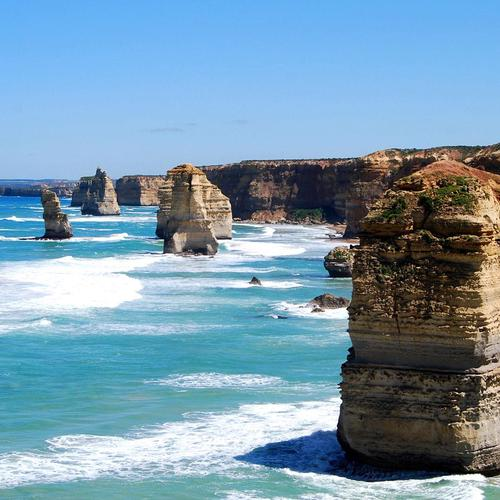 Twelve Apostles On The Australian coast wallpaper