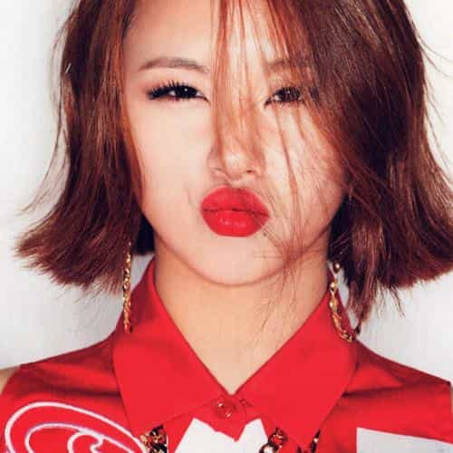 twice chaeyoung red cute girl music