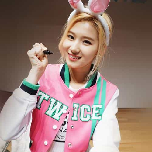 twice girl shashasha pink cute sana