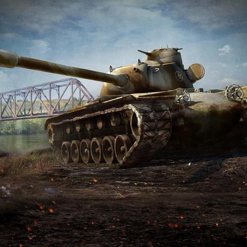 Usa Heavy Tank T110e5 wallpaper