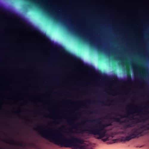 valentine beautiful aurora night sky