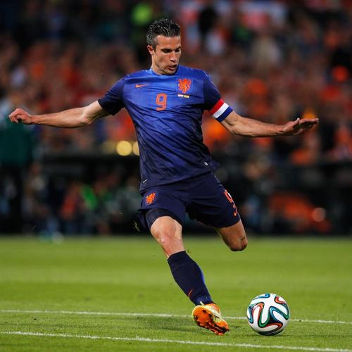 Van Persie scored goal wallpaper