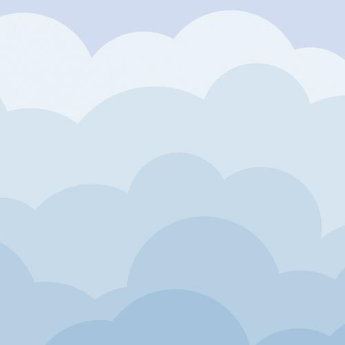 Vector cloud wallpaper