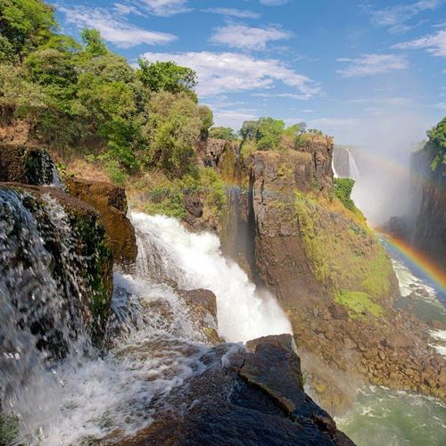 Victoria Waterfall, Zambezi River wallpaper
