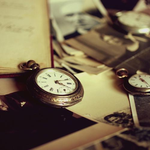 Vintage watch and memories wallpaper