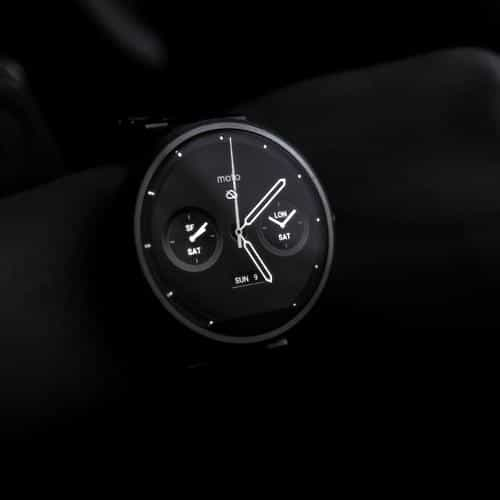 watch dark bw minimal