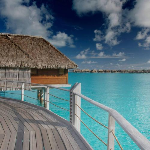 Water Bungalows Bora Bora wallpaper