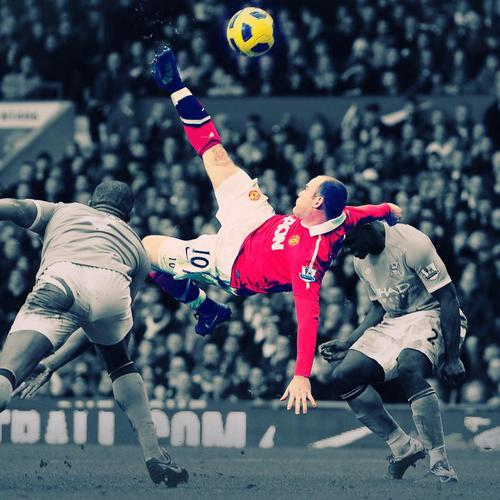 Wayne Rooney v Manchester City wallpaper