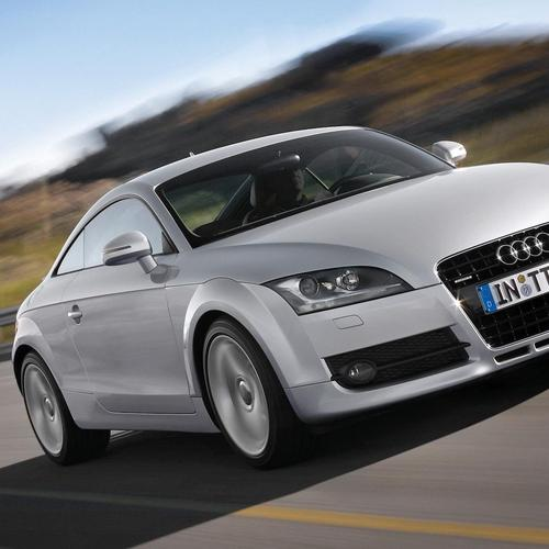 White Audi Tt Quattro wallpaper