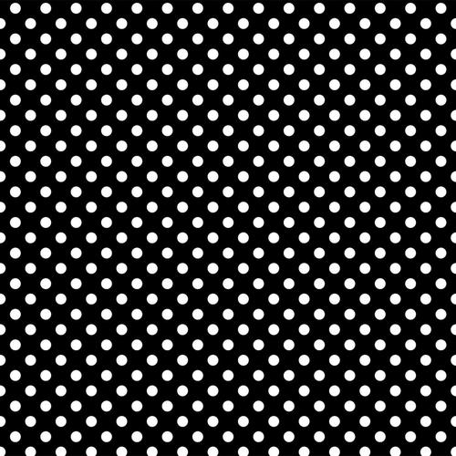 White dots on black background wallpaper