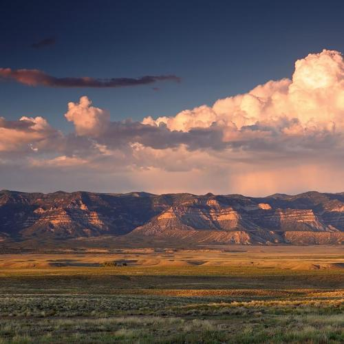 Wide Landscape view In Utah