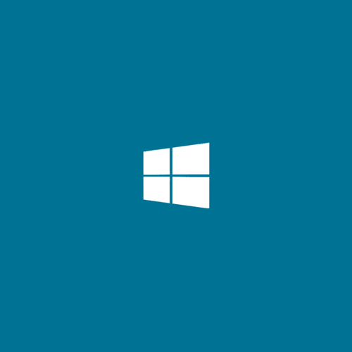 Windows 8 logo sfondo