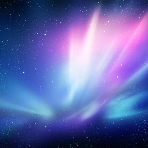 Wonderful purple blue galaxy wallpaper
