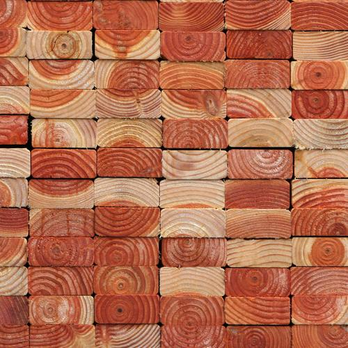 Wood brick texture wallpaper