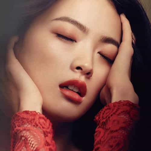 woohee chun kpop red model magazine