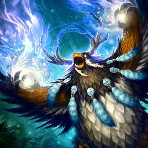 World of Warcraft moonkin behang