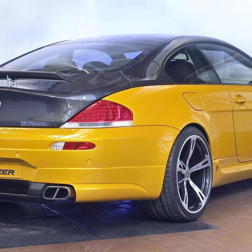 Jaune Bmw Tuning fonds d