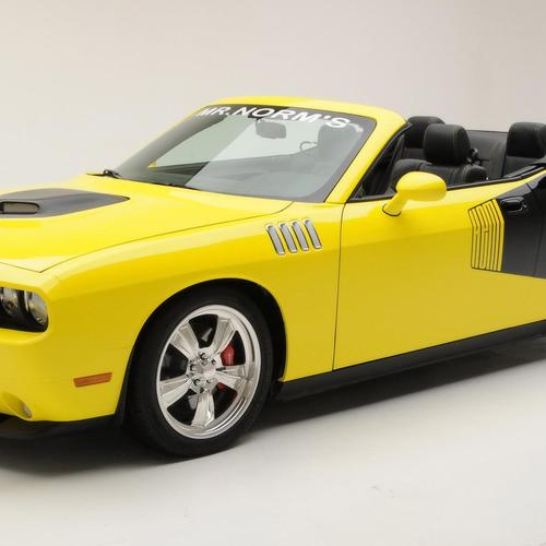 Yellow Converible Barracuda
