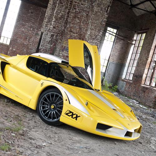 Yellow Ferrari Edo Competition Zxx -2012 wallpaper