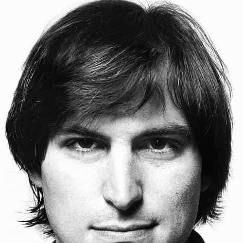 young steve jobs face
