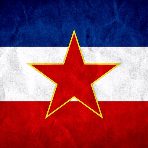 Yugoslavia Grunge Flag wallpaper