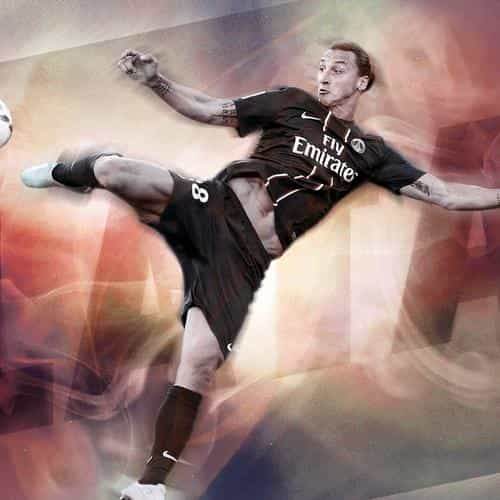 zlatan Ibrahimovic paris saint germain sports soccer