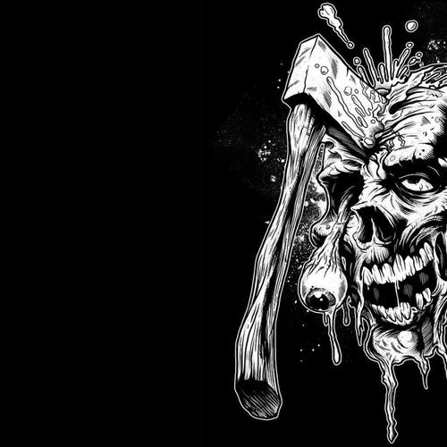 Download Zombie Axed High quality wallpaper
